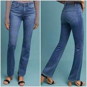 PAIGE Manhattan Boot Cut Medium Wash Jeans 28